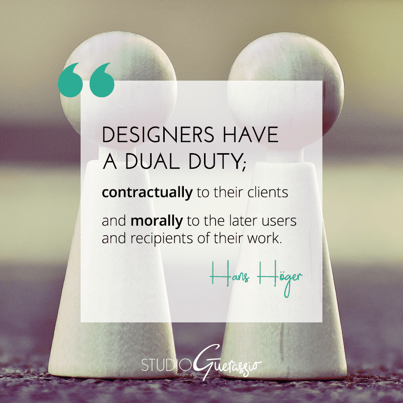 A Designer's Duty