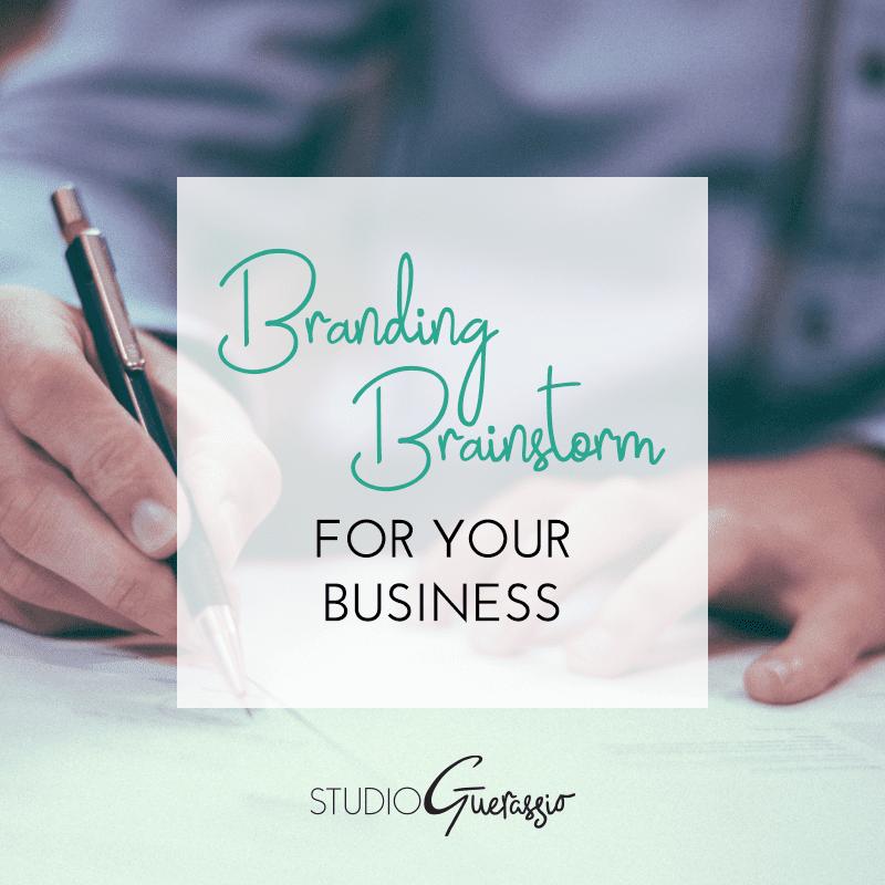Branding Brainstorm For Your Business