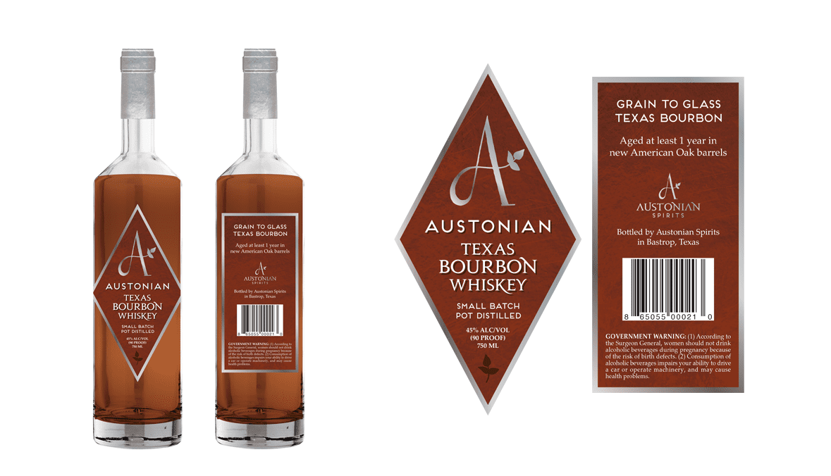 Austonian Texas Bourbon Whiskey